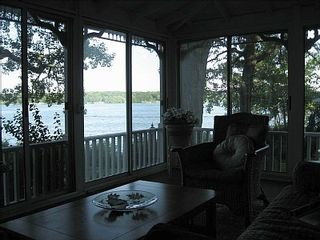 Delavan house photo - Gorgeous lake views and beautiful sunrises from the wraparound porch!