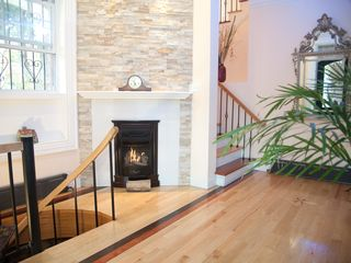 Brooklyn house photo - Welcoming warm fireplace