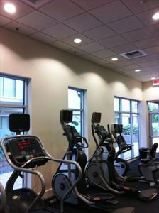 Los Angeles condo rental - The Gym
