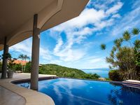 Casa OM-  with a Heavenly View of the Pacific,  Beautiful pool  lush landscaping