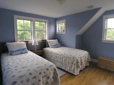 Dennisport property rental - Bedroom 3 upstairs with 2 twin size beds