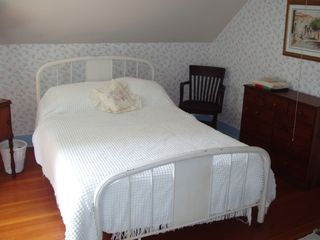 Canaan farmhouse photo - A bedroom on the 1800s side of the house