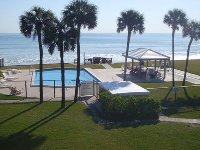Satellite Beach condo rental - Relax by the beautiful pool
