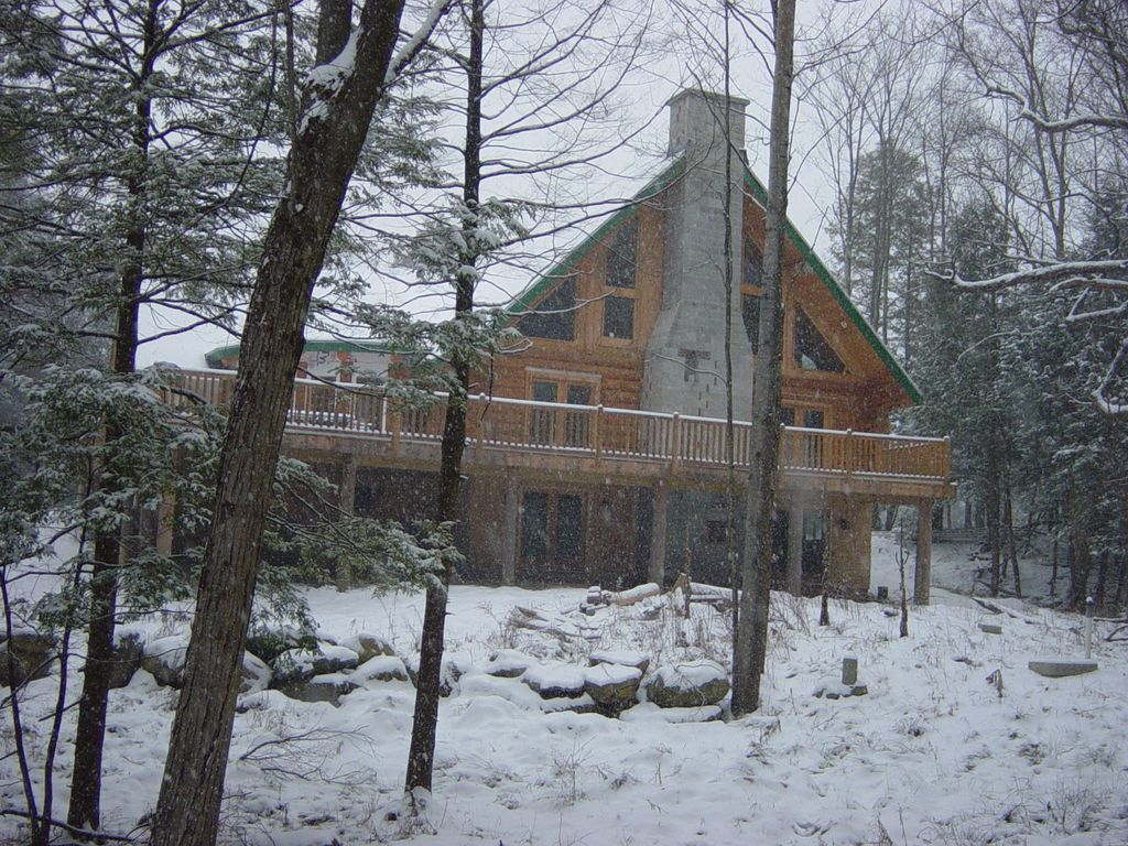 The Perfect Vermont Real Log Cabin House Vrbo