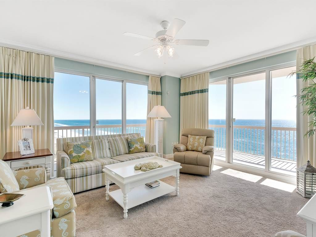 Wonderful Gulf View From 3 Bedroom Unit Homeaway Panama City Beach