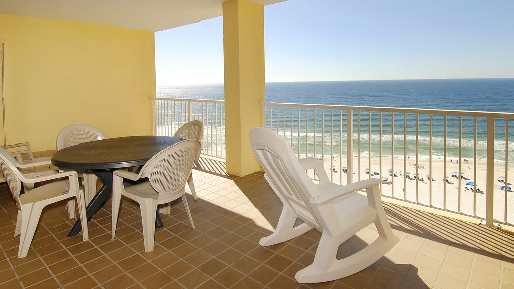 You can't beat this balcony. You'll only find one this big on a corner unit