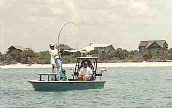 Experience world-class fishing in and around the waters of Pine Island