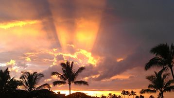 Amazing sunsets from our Lanai