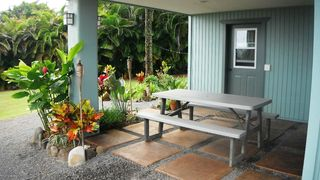 Haiku studio photo - Studio Lanai / Yard / Entry on Ground Floor