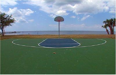 The Community volleyball court
