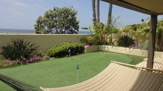 Blue Ocean Views from Hammock and Putting Green in Private Rear Yard - Point Loma estate vacation rental photo