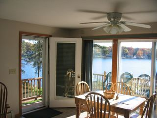 Lake Winnisquam condo photo - View from the Living Room and Dining Area