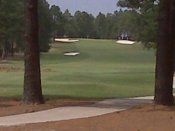 Hole No. 1 of Pinehurst Course No. 6
