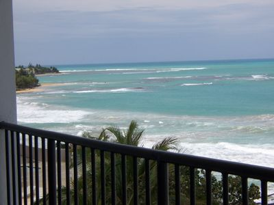 View off of the Condo Balcony looking west