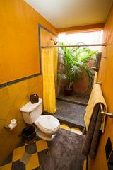 Tamarindo house photo - Open air shower in the Coral room bathroom