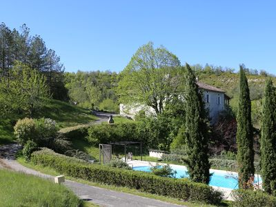 Gite Le Sabatou. Independant Private Property, Pool & 30 acre nature reserve.