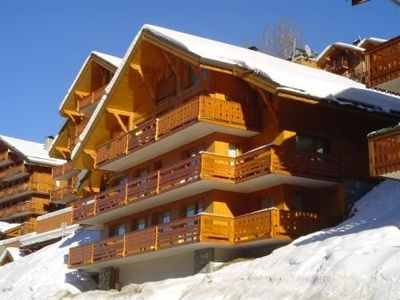 APARTMENT ON 3 LEVELS IN A CHALET MERIBEL