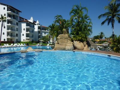 Pool at Vamar Vallarta right across the street for your use during your stay
