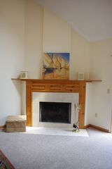 Mashpee house photo - Fireplace in family room