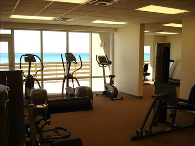 Fitness Center and Sauna