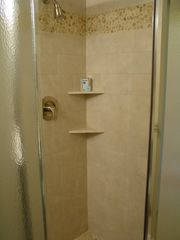 Haleiwa condo photo - second bathroom with rock bottom shower