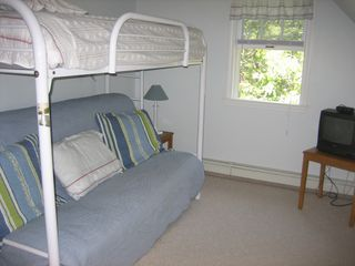 Chatham house photo - 3rd Bd- Futon Bunk Room - Full on the Bottom -Twin on Top