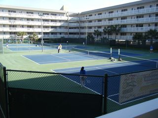 Folly Field condo photo - Four of our six tennis courts