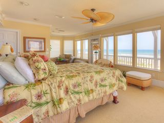 Summer Haven house photo - Luxury master bedroom suite with queen, tv & oceanviews.