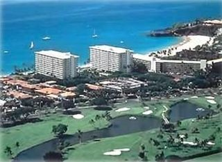 Located just next door are Ka'anapali's two championship golf courses