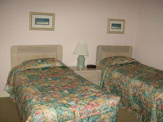 Kingston Plantation condo photo - Guest Bedroom with two twin beds.