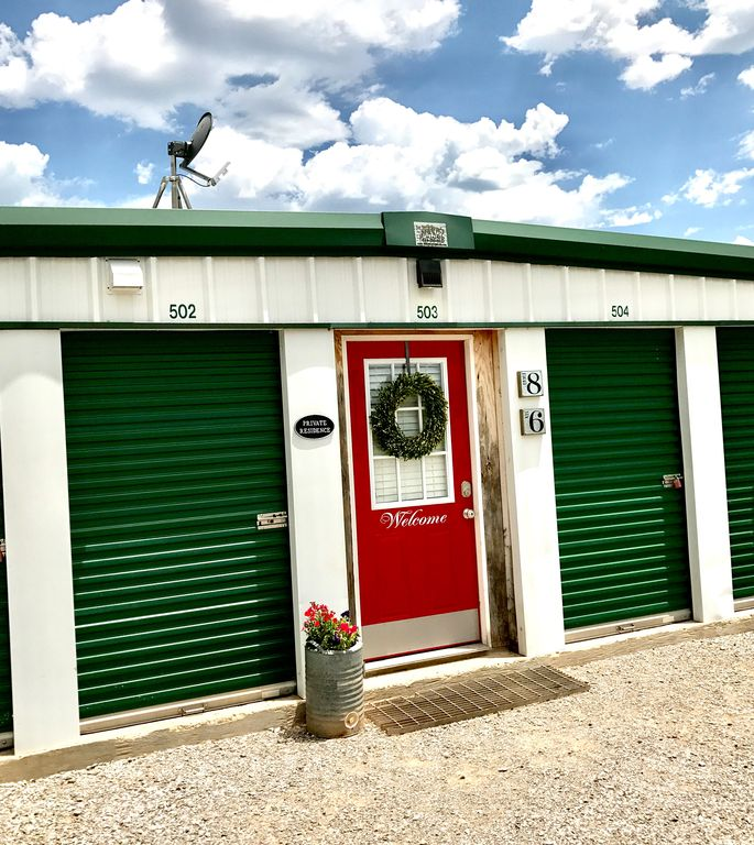 Unique Storage Container Home Steps from Lakes, Mountains, and Ft. Sill