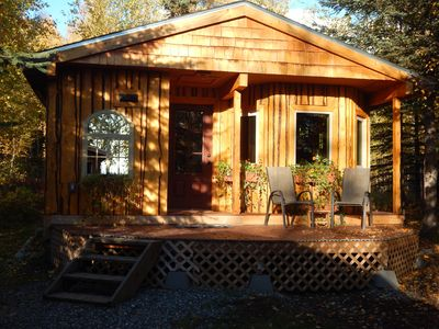 Talkeetna Basecamp wilderness cabin accessible by car