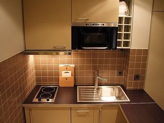1st Arrondissement Louvre apartment photo - Furnished and equipped kitchen