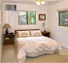 Studio with queen sized bed.  Wireless Internet access available.