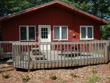 Silver Lake cottage rental - Raven Cottage