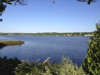 Wiscasset cottage photo - View out the Master Bedroom Window. 2012.