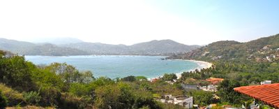 Spectacular View of the Bay of Zihuatanejo & Playa La Ropa