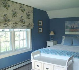 Surfside Nantucket house photo - Upstairs queen bedroom