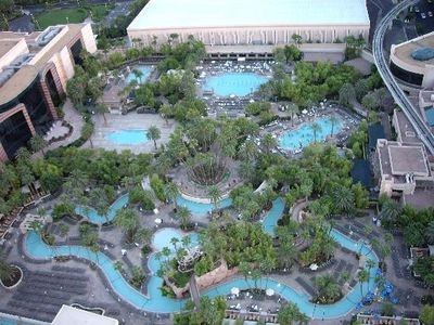 MGM pool and lazy river which is available at no cost to all Signature guests!