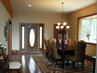 Sapphire house photo - Formal dining area seats up to 10 with 3 additional places in kitchen.