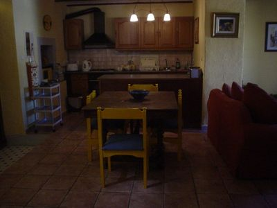 Kitchen & Dining area