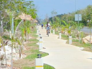 Tulum condo photo - Walk or bike with our two new bikes to the beaches on a safe paved bicycle path.