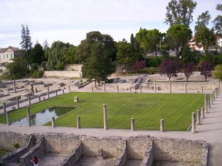 Another view of the Roman site.