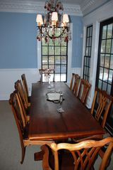 East Hampton house photo - dining room