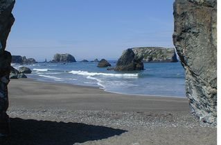 Bandon house photo - The Beach out of your back yard