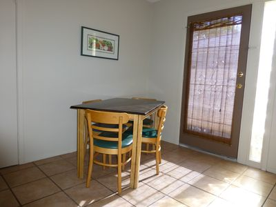 Tempe apartment rental - Dining area in the kitchen