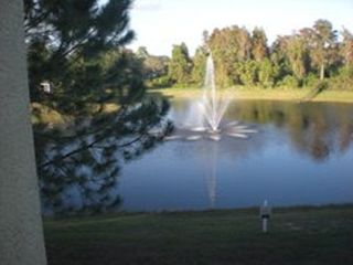 View of ground from bedroom - Kissimmee condo vacation rental photo