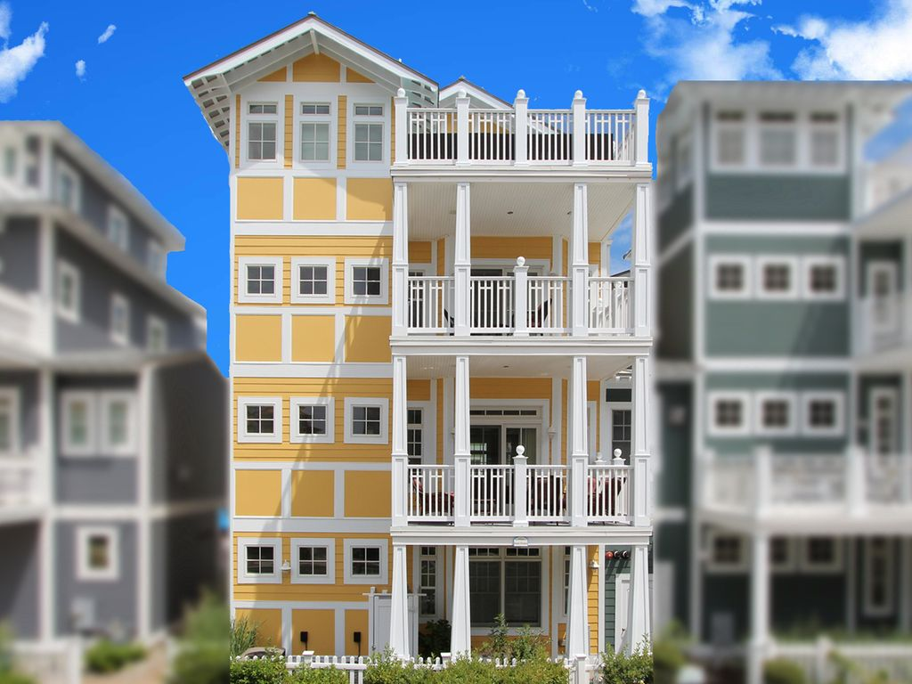 Luxury beach house is your own private heaven vrbo for 4 story beach house plans