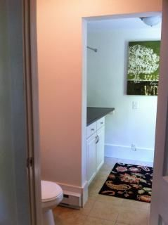 1/2 Bath and Laundry Room
