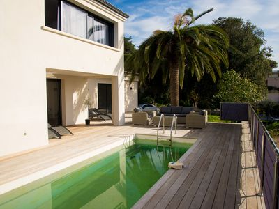 villa with private pool 100m from the beach - Isolella